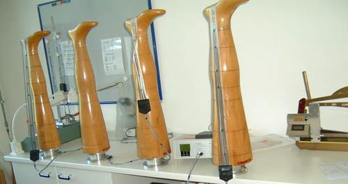 测量医疗弹力袜的意大利专用实验设备