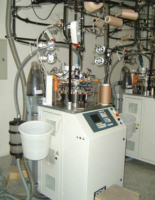 具有国际顶尖技术的德国MERZ医疗袜针织大圆机